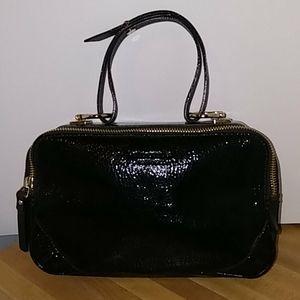 Kate Spade Patent Leather Box Handbag